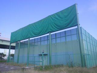 アーチェリー練習場の施工例-大阪府堺市-