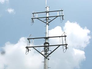 移動体通信、CATVなど、様々なアンテナの取付金具を製作しています。