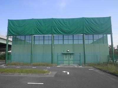 アーチェリー練習場