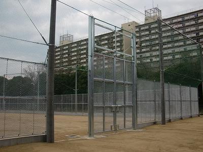 南港東防球ネット