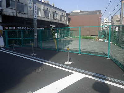 市内一円都市計画道路等管理フェンス設置